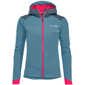 VAUDE Qimsa Softshell Jacket Women blue gray